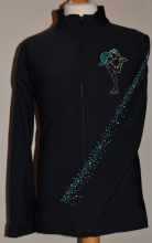 NEW! Kids Fitted Thermal Jacket with Rhinestud Design